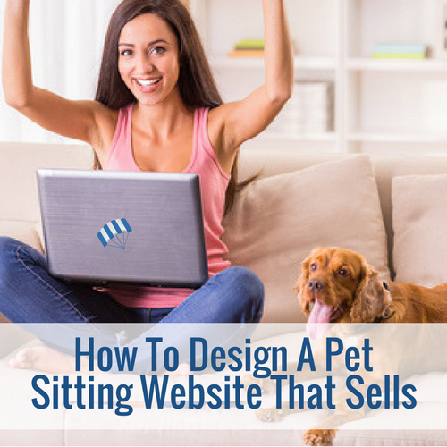 pet sitting website design