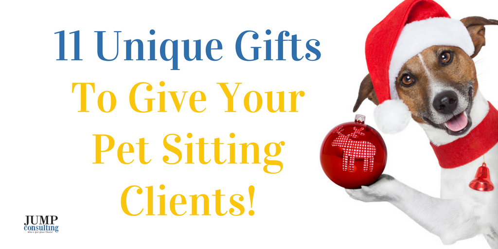 gifts to pet sitting clients