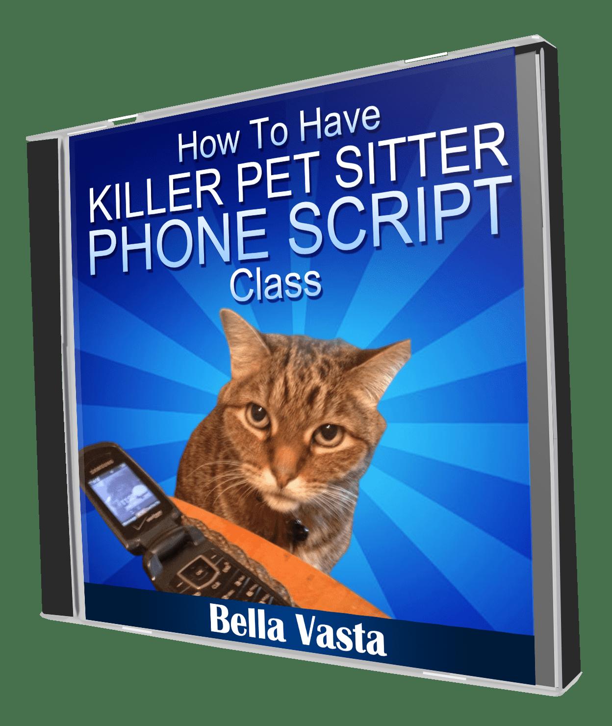 Pet Sitter Phone Script