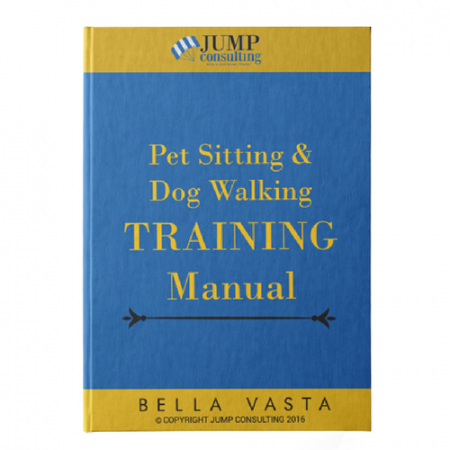 Pet Sitting Employee Handbook and Training Manual Class & Outline ...