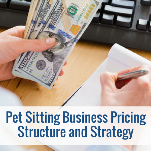 pet sitting pricing structure
