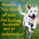 how to start pet sitting business