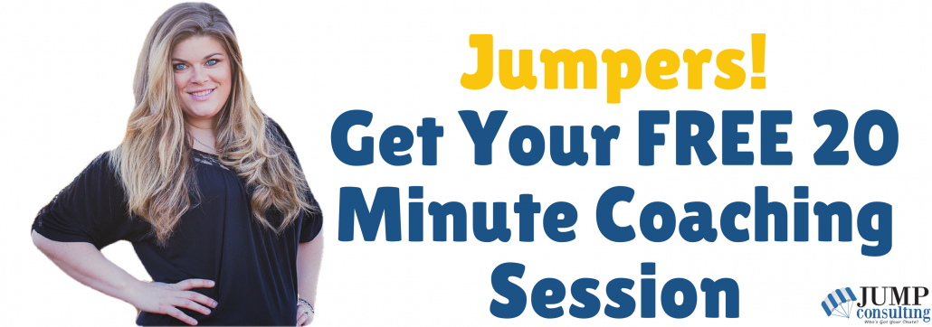 20 min free coaching session
