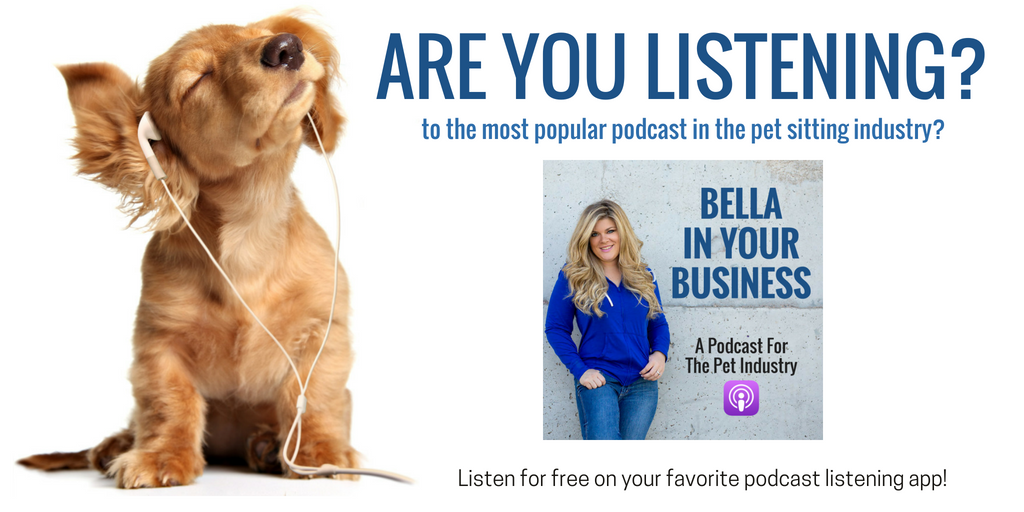 Pet sitting podcast