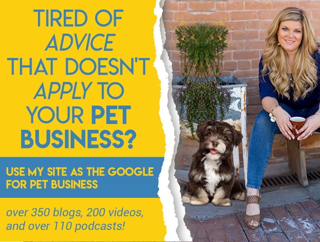 Pet Business Coach