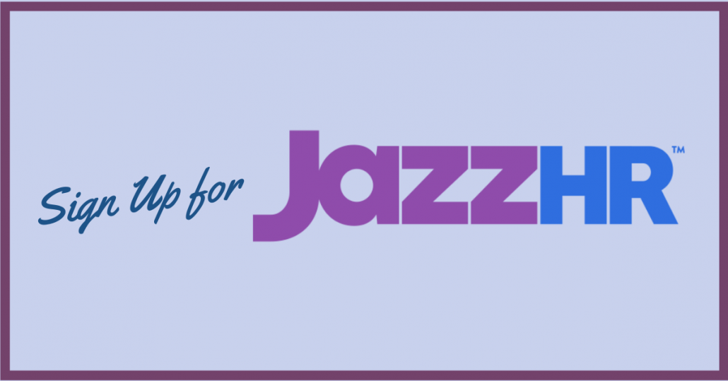 sign up for jazzhr