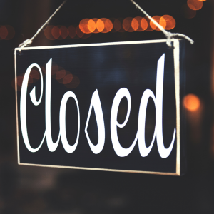 things to consider before temporarily closing your business