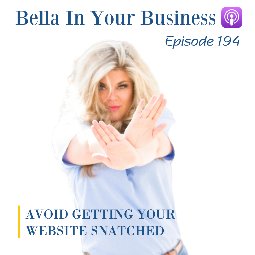 Business women talking about website content security