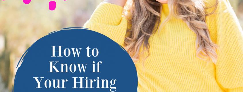 hiring ads
