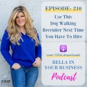 Dog Walking Recruiter Podcast, Business Coach, Woman, Pet Business, Podcast, Dog Walking, Hiring Staff, recruitment