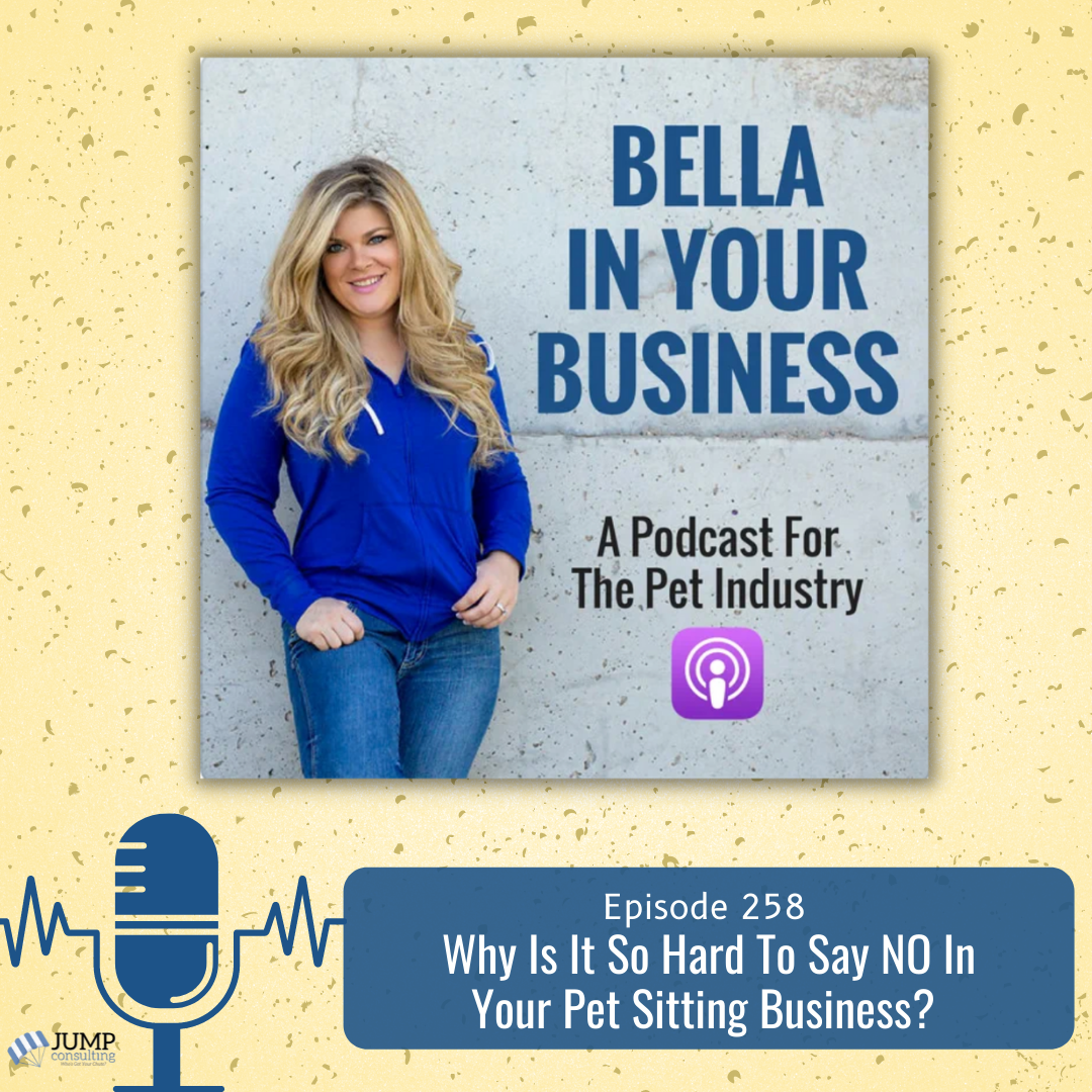 Saying no in your pet business podcast episode featured image
