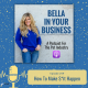 How to make things happen in your pet sitting business podcast episode featured image