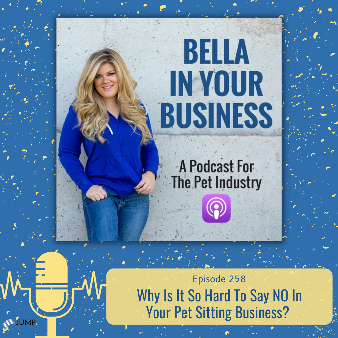 Saying no in your pet sitting business podcast episode featured image