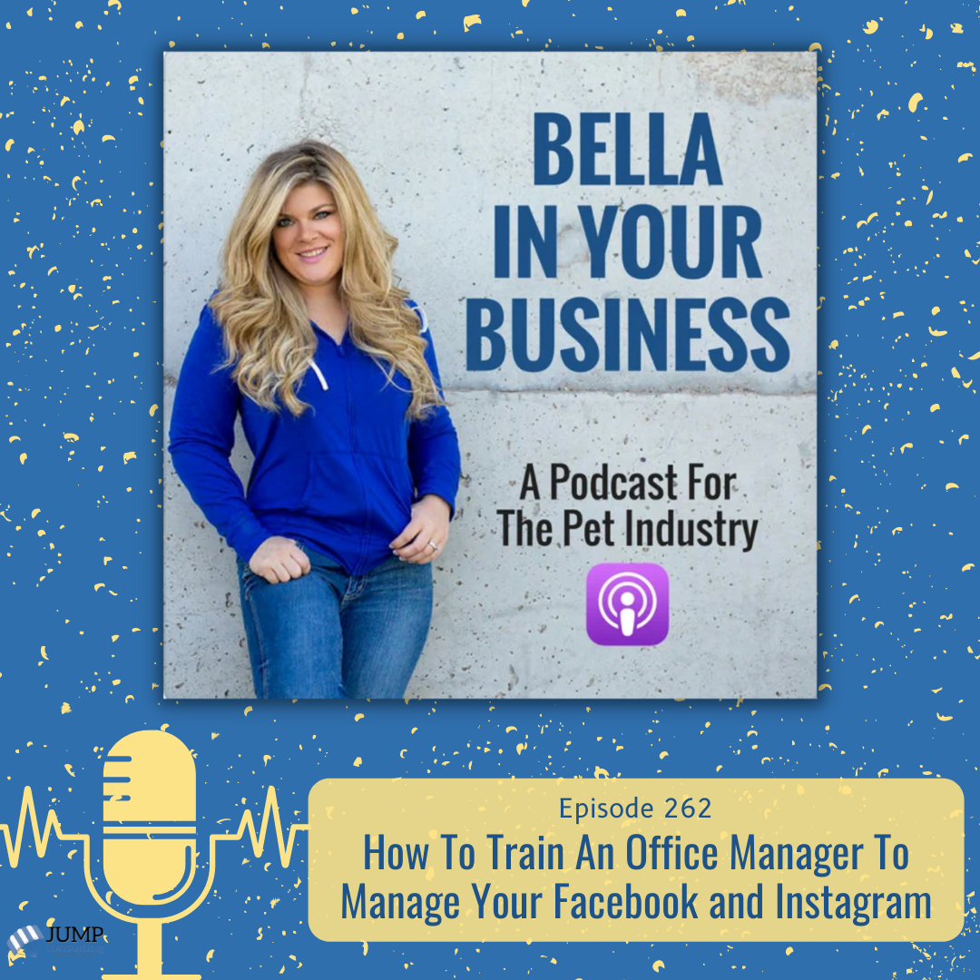 How To Train An Office Manager To Manage your Facebook and Instagram Podcast Episode Featured Image